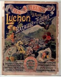 Fête des fleurs de Luchon 9 août... (Anonyme) - Muzeo.com