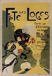 Fête des Loges. Forêt de St Germain en Laye. Fête foraine... (Anonyme) - Muzeo.com