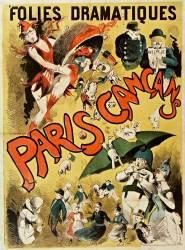Folies Dramatiques. Paris Cancans [revue] (Anonyme) - Muzeo.com