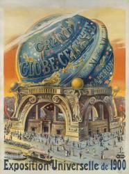 Grand globe céleste. Exposition Universelle de 1900 (Anonyme) - Muzeo.com