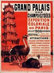Grand Palais des Champs-Elysées : Exposition coloniale de Paris : juillet-novembre 1906... (Bouisset Firmin) - Muzeo.com