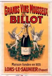 Grands vins mousseux Billot... (Anonyme) - Muzeo.com