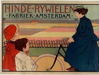 Hinde-Rywielen Fabriek-Amsterdam (usine de vélo, Amsterdam) (Anonyme) - Muzeo.com