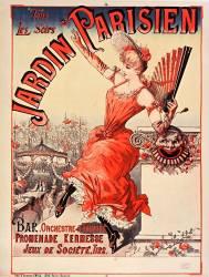 ...Jardin parisien, bar, orchestre et theatre... (Anonyme) - Muzeo.com