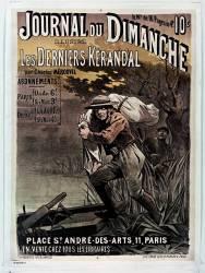 Journal du dimanche Les Derniers Kérandel par Charles Mérouvel (Anonyme) - Muzeo.com