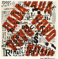 Kleine Dada soiree (Theo Van Doesburg) - Muzeo.com