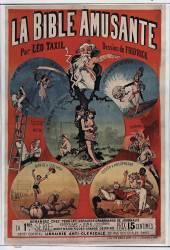 La Bible amusante par Léo Taxil, Dessins de Frid'rick (Anonyme) - Muzeo.com
