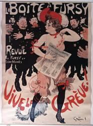 La Boîte à Fursy. Revue de Fursy et Léon Nunès. Vive la grève ! (Grün Jules) - Muzeo.com