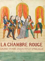La chambre rouge, grand drame en 4 actes et 1 prologue, prologue le price royal (Anonyme) - Muzeo.com