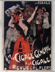 La Cigale. A la Cigale Général... à la Cigale (Grün Jules) - Muzeo.com