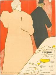 L''Argent (Henri de Toulouse-Lautrec) - Muzeo.com