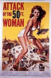 L'Attaque de la femme de 50 pieds, 1958 (Anonyme) - Muzeo.com