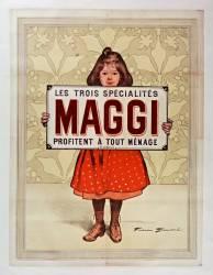 Les trois spécialités Maggi profitent à tout ménage (Bouisset Firmin) - Muzeo.com