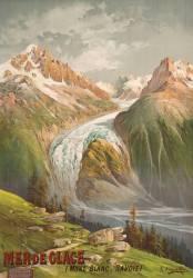 Mer de Glace (Mont Blanc, Savoie) (Hugo d'Alesi) - Muzeo.com