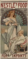 Nestlé's food for infants (Alfons Mucha) - Muzeo.com