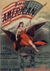 Nouvelle machine à coudre The American (Anonyme) - Muzeo.com