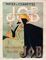 Papier à cigarettes JOB, hors concours 1889, Paris (Jane Atché) - Muzeo.com