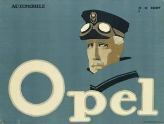 Publicité allemande pour les voitures de marque