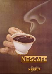 Publicité pour Nescafé par Nestlé, réalisé par Schupbach (anonyme) - Muzeo.com