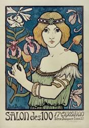 Salon des Cent. 17e Exposition en 1895 (Berthon Paul) - Muzeo.com