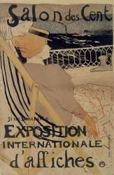 Salon des Cent, Exposition internationale d'affiches (Henri de Toulouse-Lautrec) - Muzeo.com