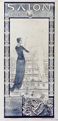 Salon Rose Croix du 10 mars au 10 avril. Galerie Durand-Ruel... (Carlos Schwabe) - Muzeo.com