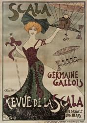 Scala, Germaine Gallois : Revue de la Scala (Biais Maurice) - Muzeo.com