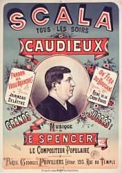 Scala, tous les soirs, Caudieux (Charles Levy) - Muzeo.com