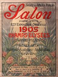 Société des artistes français. Salon... 1905 Champs Elysées Grand Palais des Beaux-arts (Bouisset Firmin) - Muzeo.com