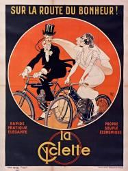Sur la route du bonheur ! La Cyclette (Mich) - Muzeo.com