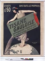 Tisane Gauloise, dépurative, purgative, en purifiant le sang, donne la santé (Berthon Paul) - Muzeo.com