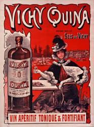 Vichy quina, vin apéritif tonique et fortifiant (Anonyme) - Muzeo.com