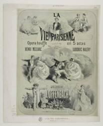[La vie parisienne, opéra-bouffe de Jacques Offenbach (Anonyme) - Muzeo.com