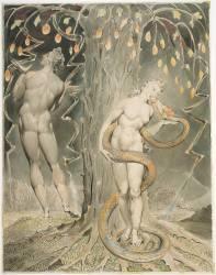 Adam et Eve, Illustration pour