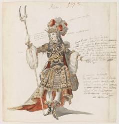 Dessin de costume (Jean Berain Père) - Muzeo.com
