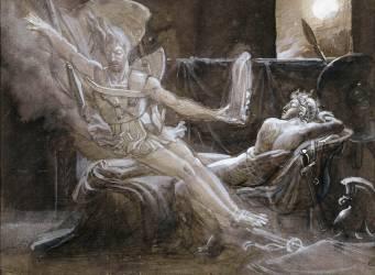 Enée apparaissant à Hector (Girodet Anne-Louis) - Muzeo.com