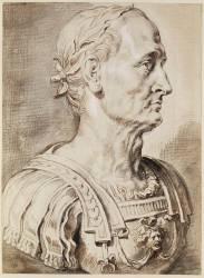 Jules César, de trois quarts à droite, d'après l'antique (Pierre Paul Rubens) - Muzeo.com