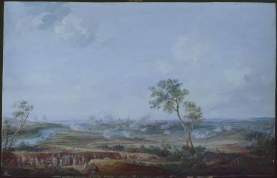 Siège d'Ath par le marquis de Clermont-Gallerande, du 2 au 8 octobre 1745 (Louis Nicolas van Blarenberghe) - Muzeo.com
