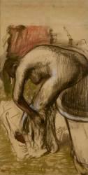 Baigneuses s'essuyant (Edgar Degas) - Muzeo.com
