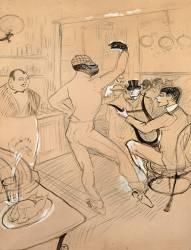 Chocolat dansant (Henri de Toulouse-Lautrec) - Muzeo.com