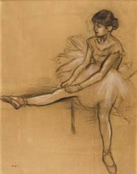 Danseuse (Edgar Degas) - Muzeo.com