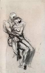 Dessin n°4 (Auguste Rodin) - Muzeo.com