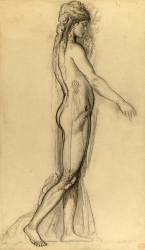 Etude d'après le modèle pour Salomé (Gustave Moreau) - Muzeo.com