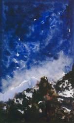 Etude de paysage (Gustave Moreau) - Muzeo.com