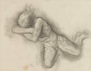Etude pour Jupiter et Sémélé (Gustave Moreau) - Muzeo.com