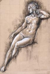 Galatée (Gustave Moreau) - Muzeo.com