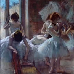 Groupe de danseuses (Edgar Degas) - Muzeo.com