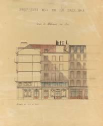 Hôtel Mirabeau, 8 rue de la Paix , Paris (Anonyme) - Muzeo.com