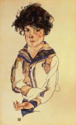 Jeune garçon (Egon Schiele) - Muzeo.com
