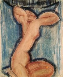 La cariatide (Amedeo Modigliani) - Muzeo.com